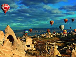Turquia: encantadora e fervilhante